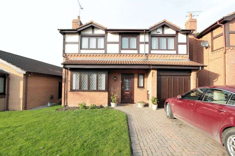 5 Bedrooms Detached House for sale in Hammond Court, Rhyl