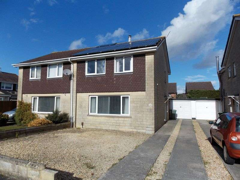 3 Bedrooms Semi Detached House for sale in Westcott Close, Frome