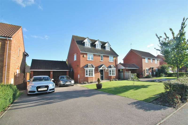 5 Bedrooms Detached House for sale in Kiln Close, Calvert Green