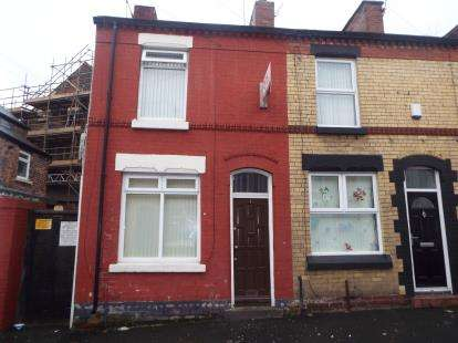 2 Bedrooms Terraced House for sale in Botanic Place, Liverpool, Merseyside, England, L7