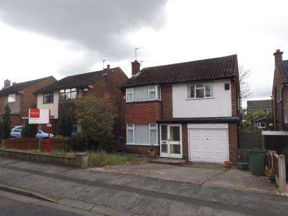 3 Bedrooms Detached House for sale in Buxton Rd, Hazel Grove, Stockport, Cheshire