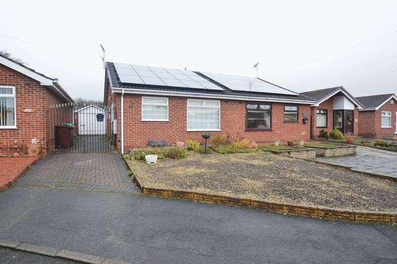 2 Bedrooms Semi Detached Bungalow for sale in Turnberry Road, Nottingham