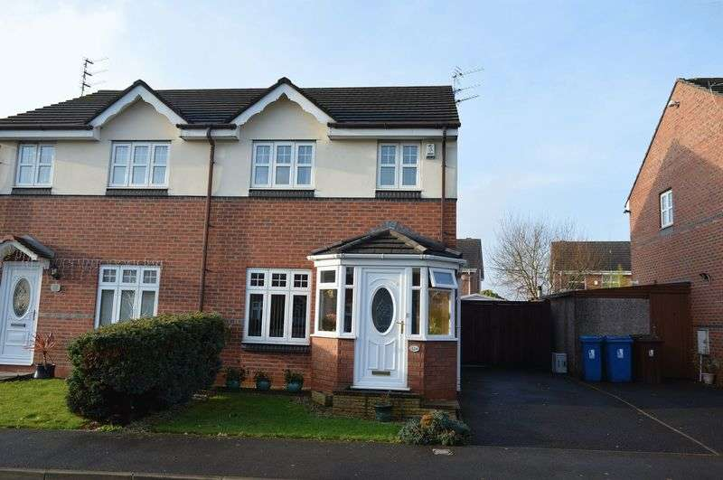 3 Bedrooms Semi Detached House for sale in Waltersgreen Crescent, Golborne, WA3 3WB