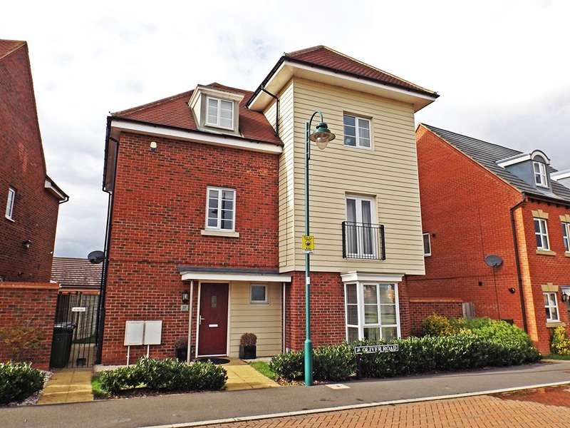 4 Bedrooms Detached House for sale in Oliver Road, Peterborough, Cambridgeshire, PE7