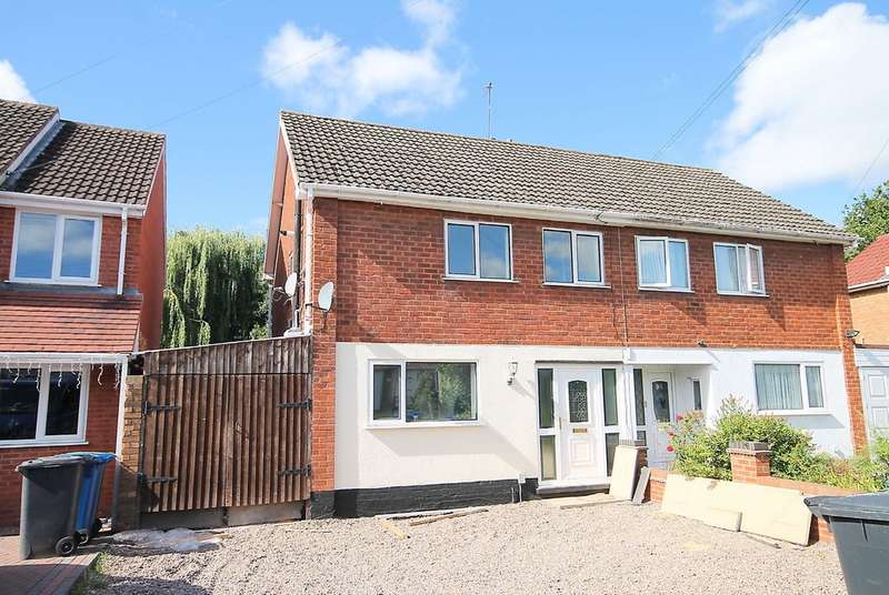 3 Bedrooms Semi Detached House for sale in Highcliffe Road, Two Gates, Tamworth, B77 1EE