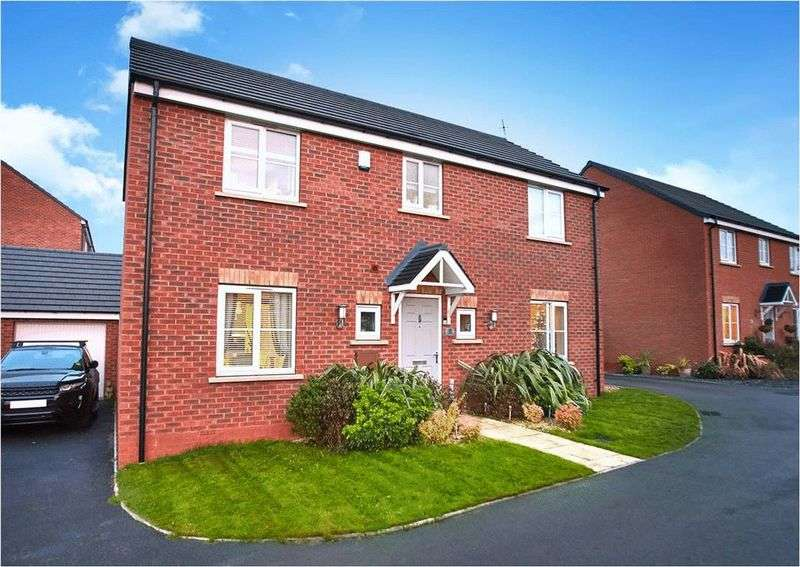 4 Bedrooms Detached House for sale in Stone Drive, Shifnal