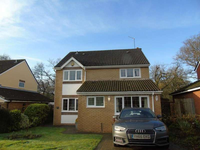 4 Bedrooms Detached House for sale in Denison Way, Cardiff
