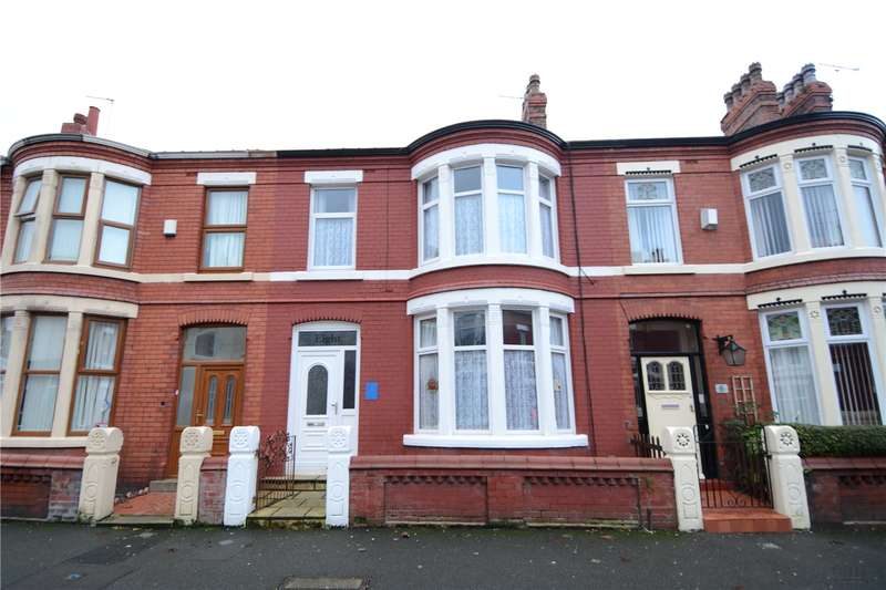 4 Bedrooms Terraced House for sale in Berwyn Road, Wallasey, Wirral