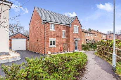 3 Bedrooms Detached House for sale in Faray Drive, Hinckley, Leicestershire