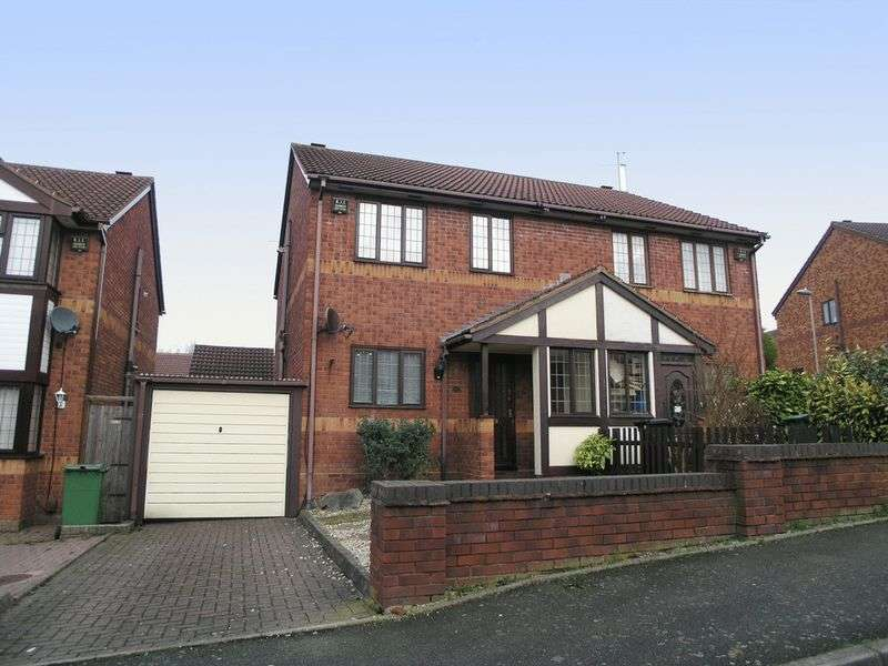 3 Bedrooms Semi Detached House for sale in BRIERLEY HILL, Brockmoor, Cressett Avenue