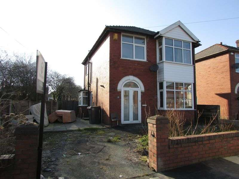 3 Bedrooms Detached House for sale in Fletcher Fold Road, Bury - Potential to extend