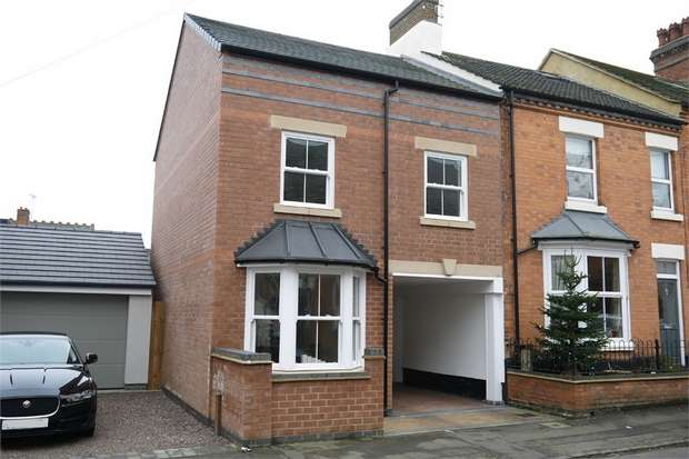 3 Bedrooms End Of Terrace House for sale in Patrick Street, Market Harborough, Leicestershire