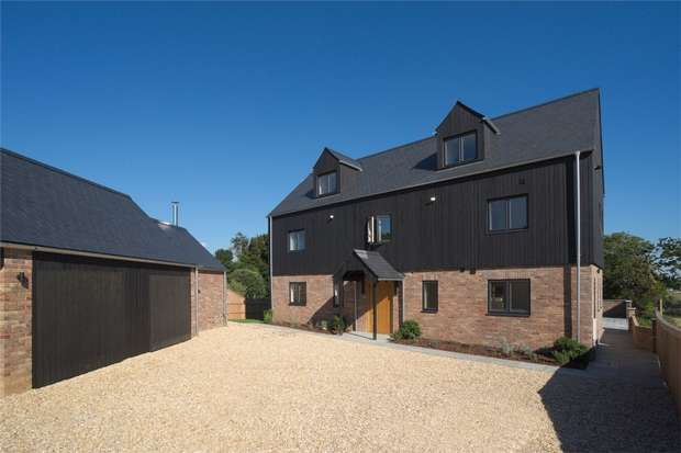 5 Bedrooms Detached House for sale in Wimborne Road, Tarrant Keyneston, Wimborne, Dorset