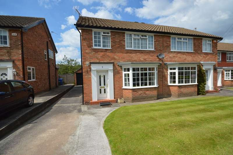 3 Bedrooms Semi Detached House for sale in Musbury Avenue, Cheadle Hulme