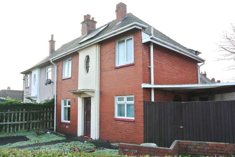 3 Bedrooms Semi Detached House for sale in Hawes Side Lane, Blackpool, FY4 4AT