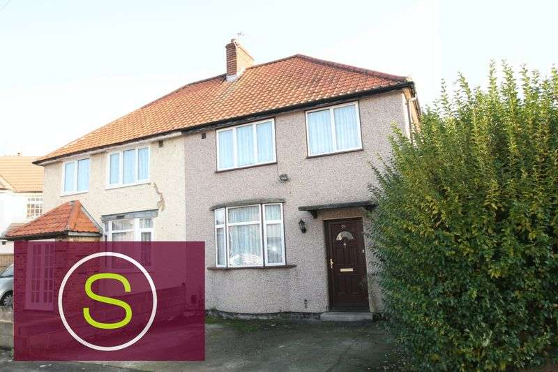 3 Bedrooms Semi Detached House for sale in Bishops Road, Hayes