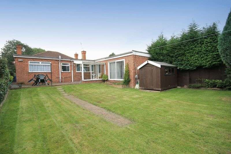 4 Bedrooms Detached Bungalow for sale in CHELLASTON ROAD, SHELTON LOCK