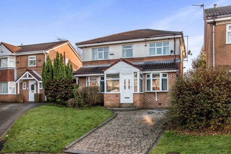 4 Bedrooms Detached House for sale in Brindley Close, Bolton BL4