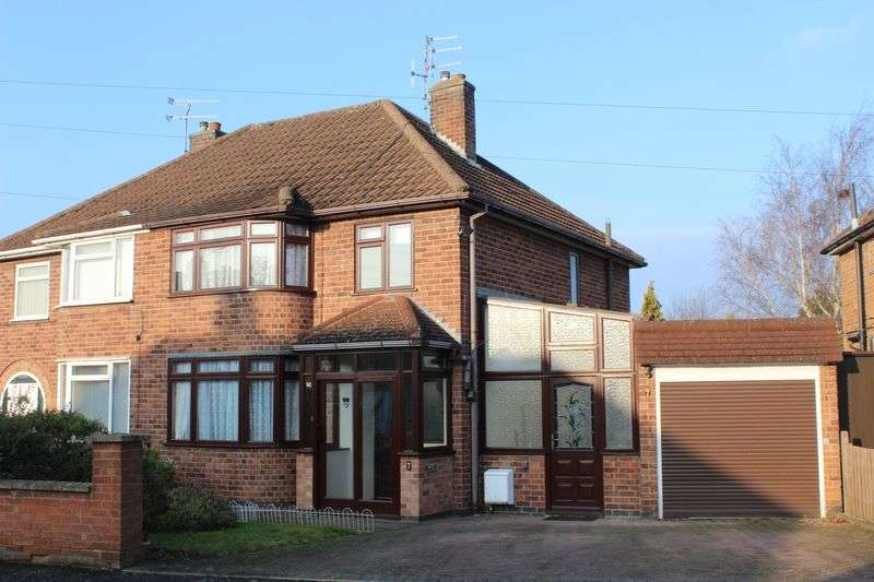 3 Bedrooms Semi Detached House for sale in Fieldgate Crescent, Leicester