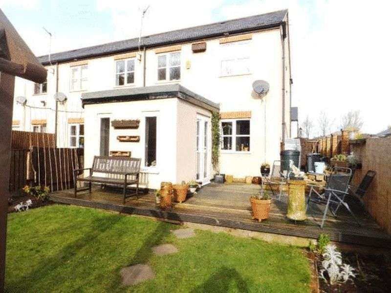 3 Bedrooms Semi Detached House for sale in Byron Fields, Nottingham