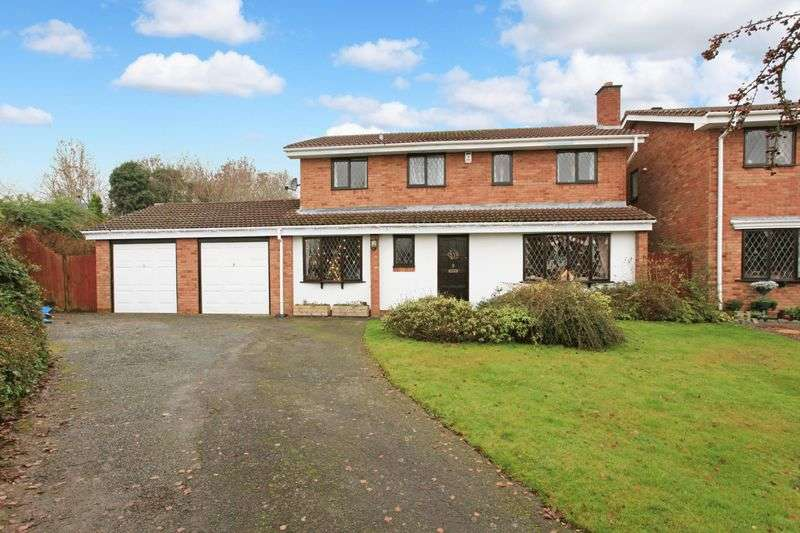 5 Bedrooms Detached House for sale in 7 Sambrook Close, Stirchley, Telford, Shropshire, TF3 1RT