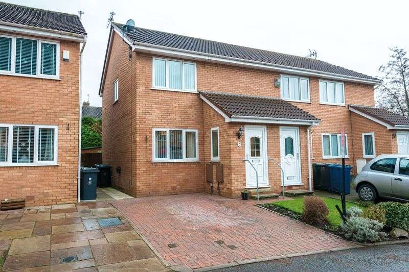 2 Bedrooms Semi Detached House for sale in Pine Crest, Aughton