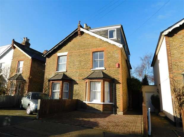 4 Bedrooms Semi Detached House for sale in Red Lion Road, Surbiton