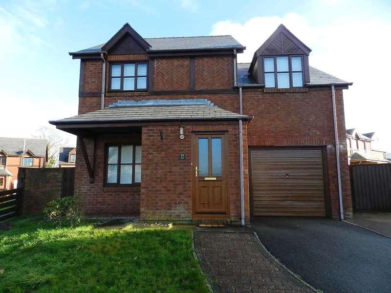 4 Bedrooms Detached House for sale in Tudor Gardens, Merlins Bridge, Haverfordwest