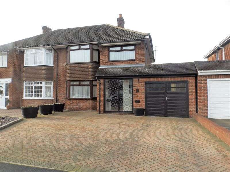 3 Bedrooms Semi Detached House for sale in Grange Drive, Stratton St Margaret, Swindon