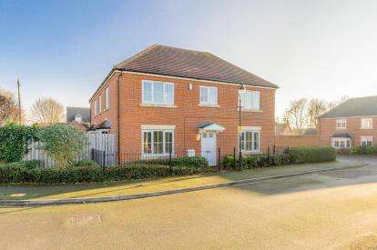 4 Bedrooms Detached House for sale in Butterfield Court, Milton Ernest, Bedford, Bedfordshire