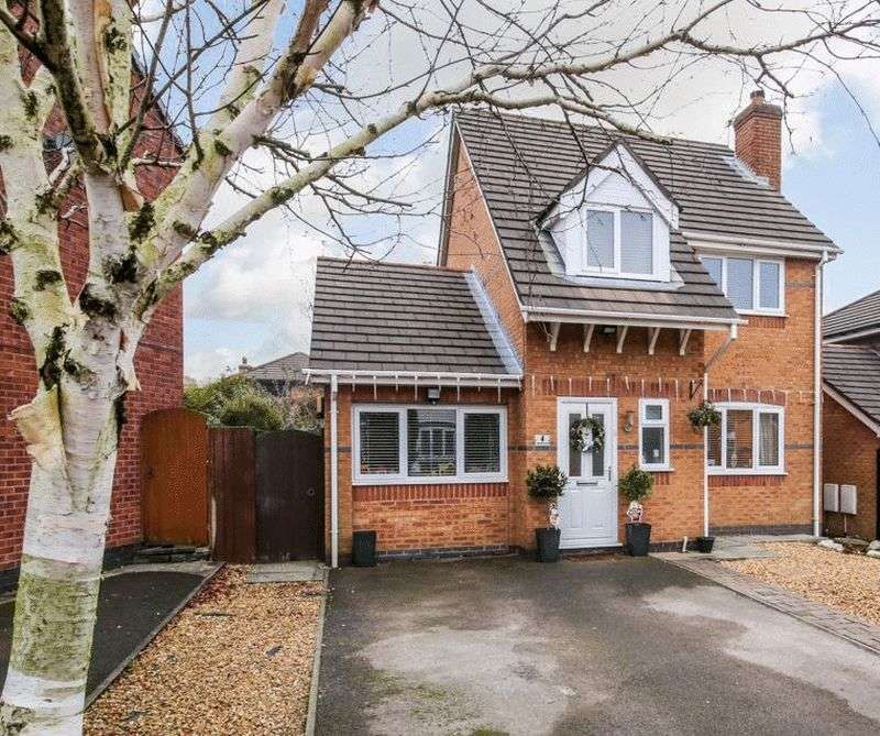 3 Bedrooms Detached House for sale in Churchlands Lane, Standish