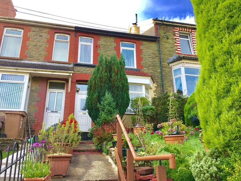4 Bedrooms Terraced House for sale in Woodland Terrace, Abertridwr, Caerphilly