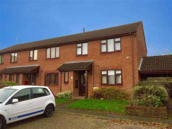 3 Bedrooms Town House for sale in Oaktree Close, Shotton