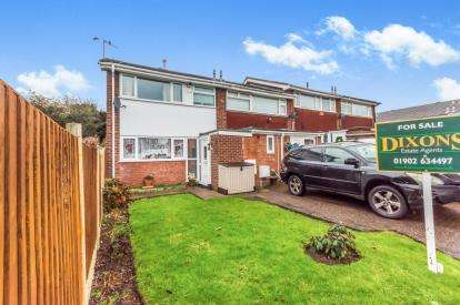 3 Bedrooms End Of Terrace House for sale in Orchard Close, Willenhall, West Midlands