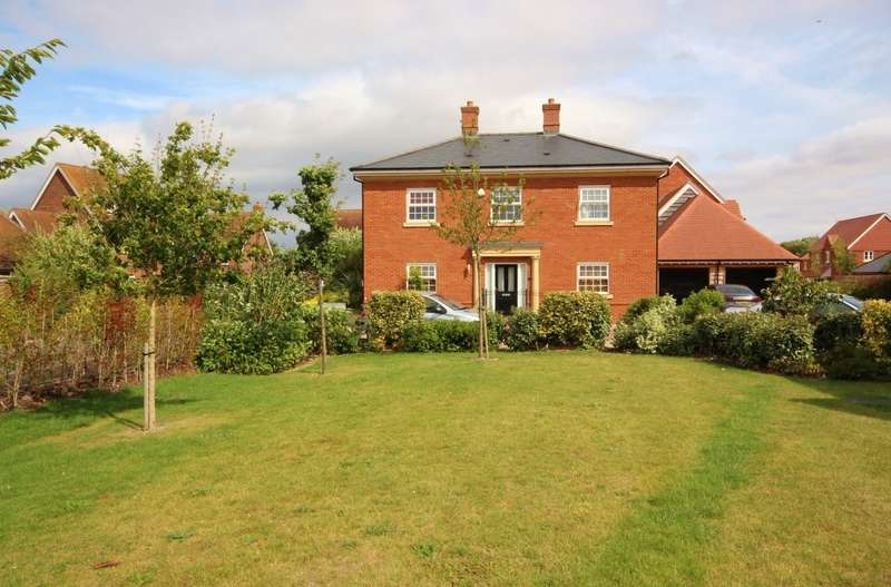 4 Bedrooms Detached House for sale in Stevenson Close, East Hanney, Wantage, OX12