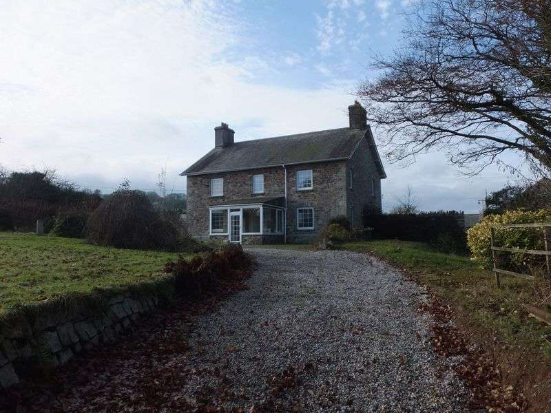 4 Bedrooms Detached House for sale in Chillaton, Lifton