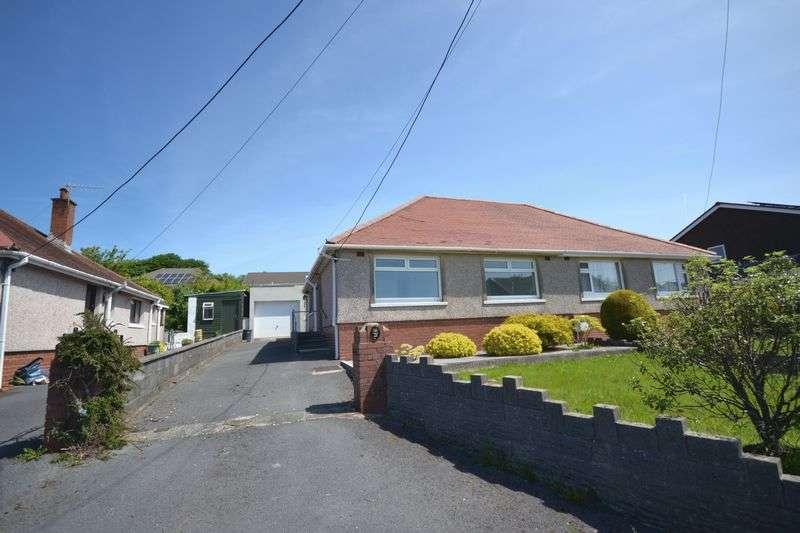 2 Bedrooms Semi Detached Bungalow for sale in Heol Y Plas, Swansea