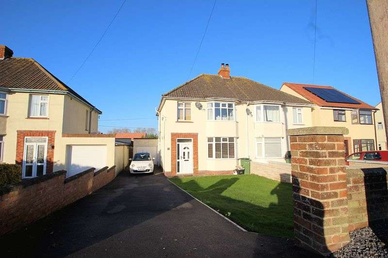 3 Bedrooms Semi Detached House for sale in Wells Road, Glastonbury