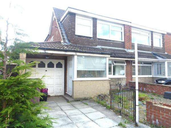 3 Bedrooms Semi Detached House for sale in Dawn Close, Thatto Heath, St. Helens