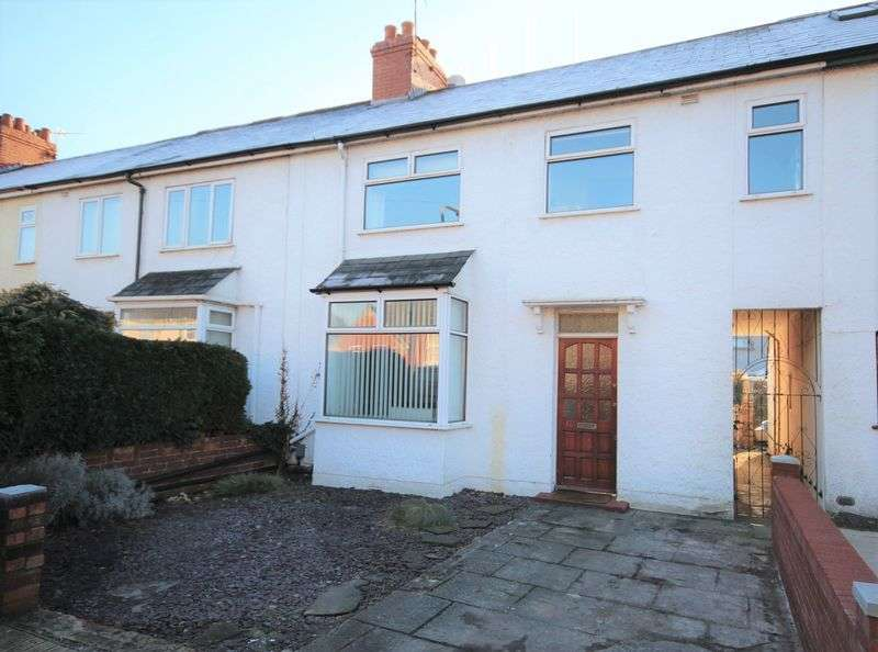 3 Bedrooms Terraced House for sale in Hawthorn Road East, Llandaff North