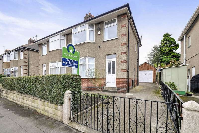 3 Bedrooms Semi Detached House for rent in Singleton Road, Sheffield, S6