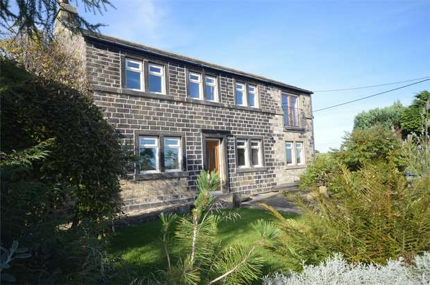 3 Bedrooms Detached House for sale in Greenside, Lower Cumberworth, HUDDERSFIELD, West Yorkshire