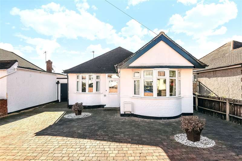 2 Bedrooms Bungalow for sale in Herlwyn Avenue, Ruislip, Middlesex, HA4