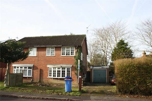 3 Bedrooms Semi Detached House for sale in St Christophers Road, FARNBOROUGH, Hampshire