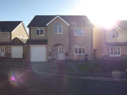 4 Bedrooms Detached House for sale in Llys Y Waun, Waunfawr, Caernarfon, Gwynedd, LL55