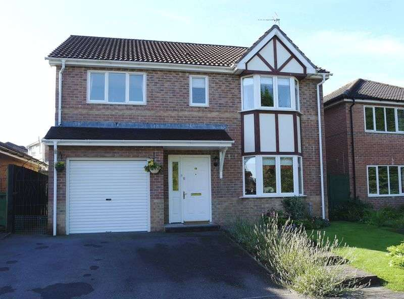 4 Bedrooms Detached House for sale in Authors Place, Llanharan, CF72 9UR