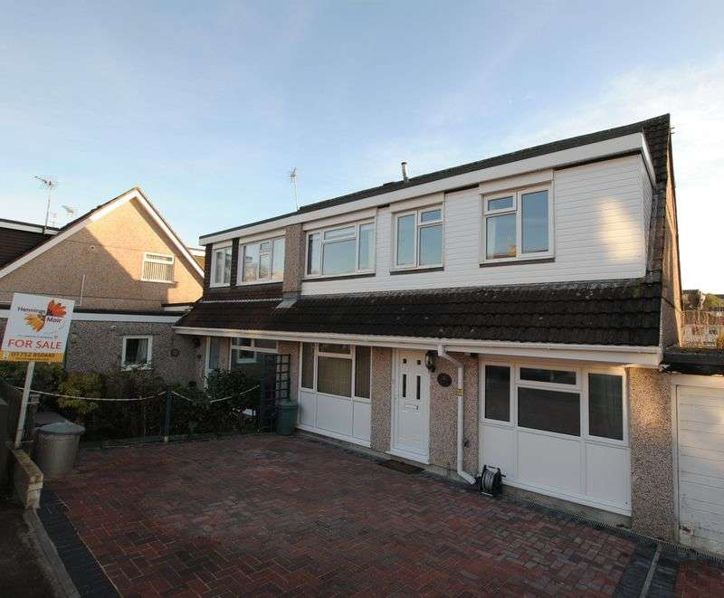 4 Bedrooms Semi Detached House for sale in Saltash