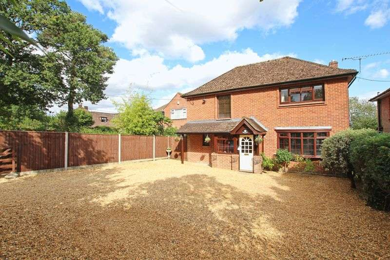 4 Bedrooms Detached House for sale in Rownhams Lane, Southampton