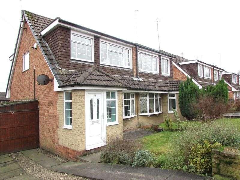 3 Bedrooms Semi Detached House for sale in Darlington Close, Tottington - South Facing Garden