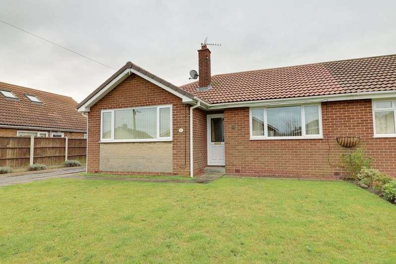 2 Bedrooms Semi Detached Bungalow for sale in Gravel Pit Road, Scotter